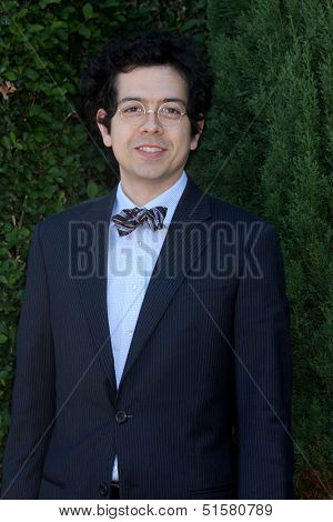 LOS ANGELES - SEP 29:  Geoffrey Arend at the Rape Foundation Annual Brunch at Green Acres Estate on September 29, 2013 in Beverly Hills, CA
