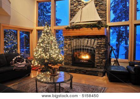 Winter Livingroom