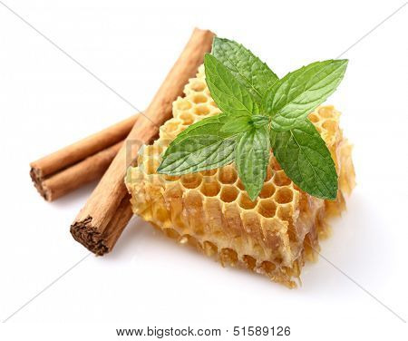 Honeycomb with spices