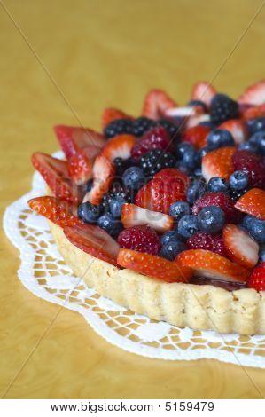 Torta de morango Blueberry