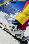 stock photo of ski boots  - Ski - JPG