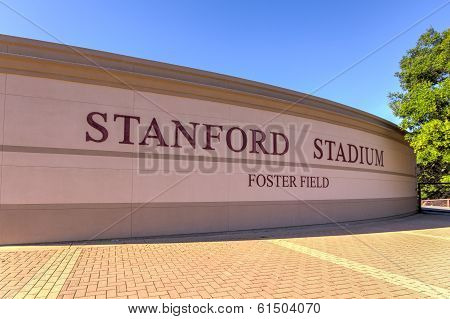 Stanford Stadium Is An Outdoor Athletic Stadium On The Stanford University Campus.