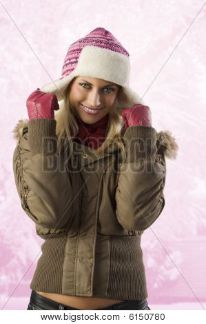 Girl Ready For Winter