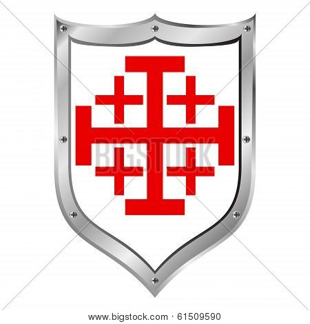 Shield Of Order Of The Holy Sepulchre Of Jerusalem