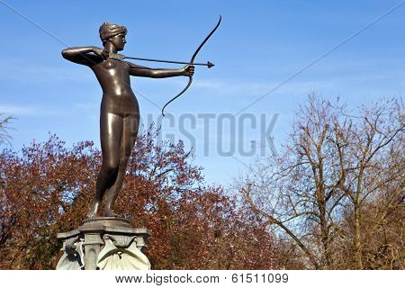 Artemis Fountain In Hyde Park
