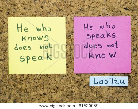Speak And Know