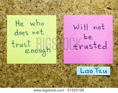 Trust Enough