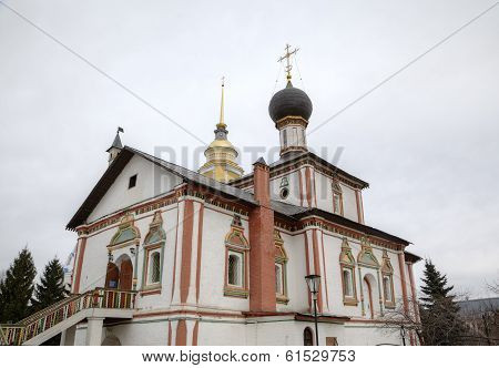 Church of the Holy Trinity in Novo-Golutvin monastery in Kolomna, Russia