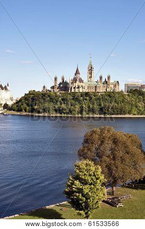 Parliament Buildings And Fairmont Chateau