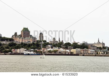 Quebec City Skyline Panorama