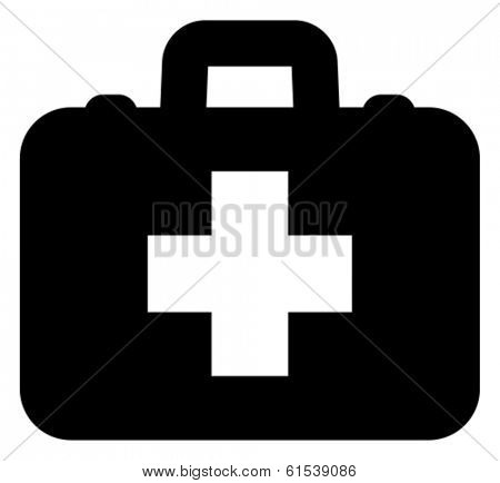 First aid vector icon