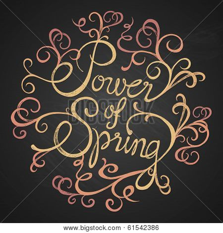 POWER of SPRING - quotes on florist circle