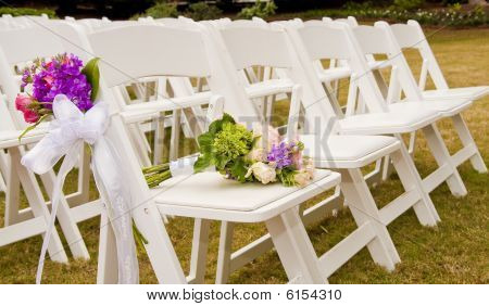 Chairs At A Wedding