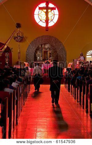 Red Church Interior