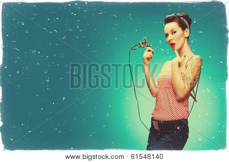 Pin-Up Girl - Retro Style Imagey