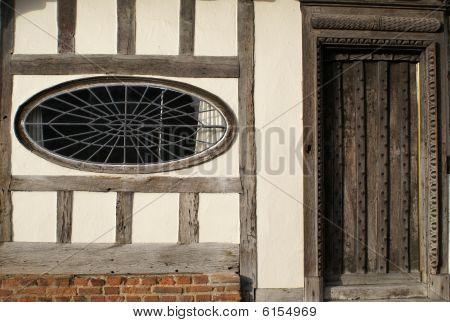 Door and  oval window