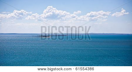 Black and Azov Sea in Crimea