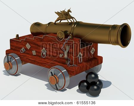 cannon unicorn with carriage
