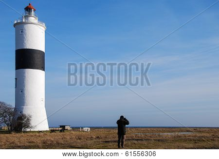 Birdwatching At Ottenby Lighthouse