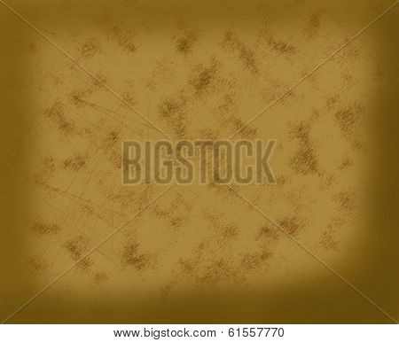 Brown background.