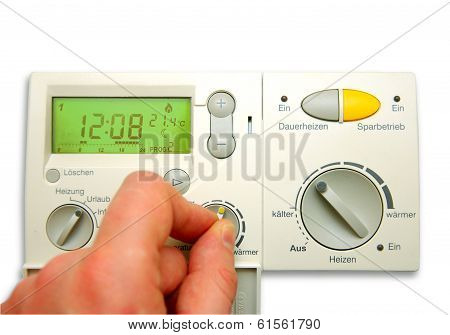Digital Thermostat Monitor