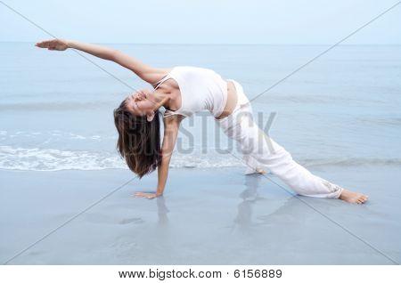Beach Yoga.