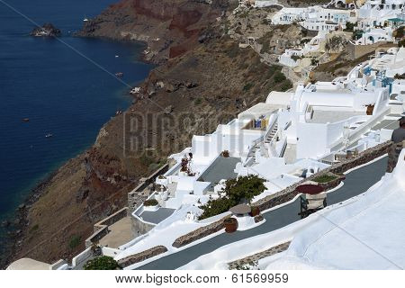 Terrace On The Mediterranean Sea