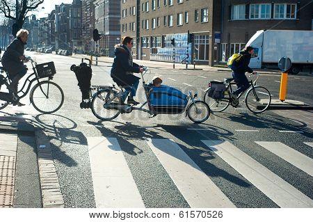 Amsterdam Bicyclists