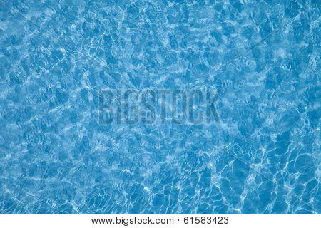 Outdoor Pool Water Texture and Ripples