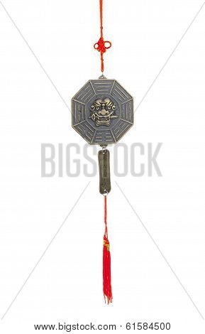 The tiger's sword lessons wind chime