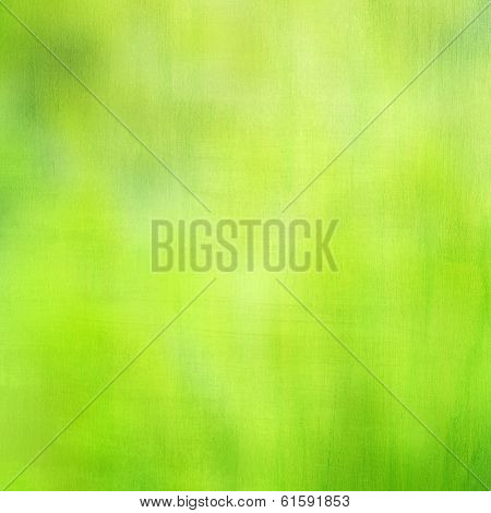 Abstract green background, beautiful backdrop, soft focus, bright sun light, natural textured wallpaper, spring season concept