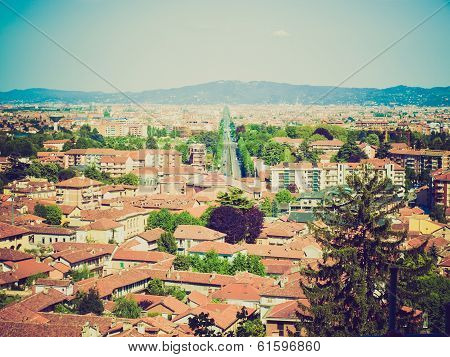 Retro Look Turin Panorama