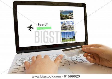 Looking Online Flights