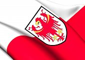 picture of south tyrol  - Flag of South Tyrol - JPG