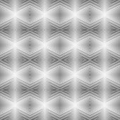 picture of uncolored  - Design seamless uncolored geometric pattern - JPG