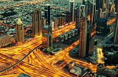 stock photo of dubai  - Downtown of Dubai  - JPG