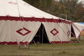 picture of circus tent  - Circus marquee  - JPG