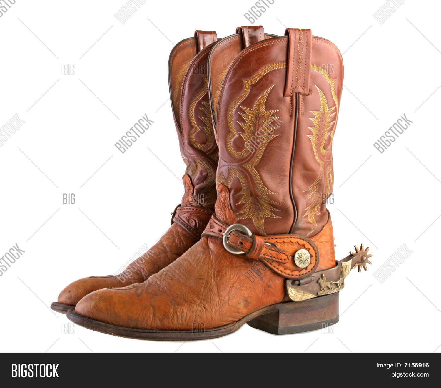 Cowboy boots & spurs Stock Photo & Stock Images | Bigstock