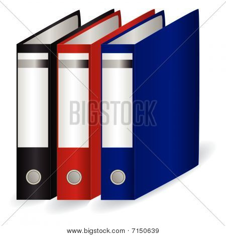 Collection of folders for papers