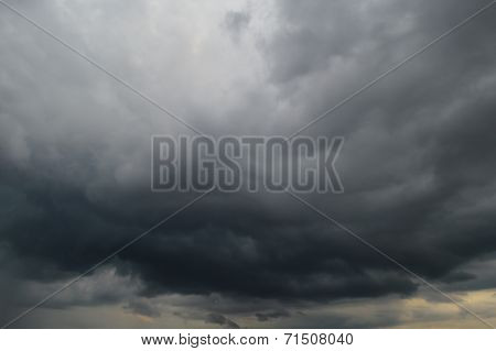Dark clouds