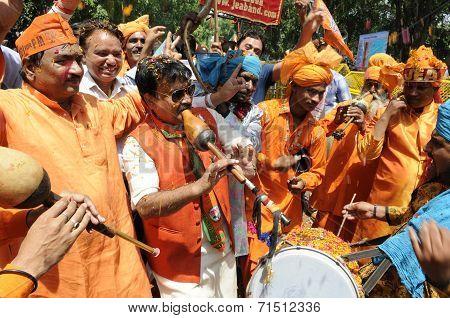 BJP celebration.