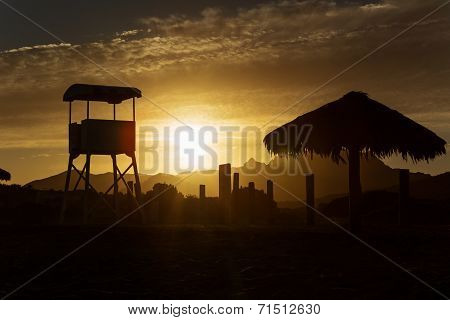 Sunset In Baja California
