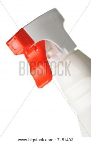 bottle of window cleaner