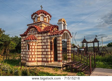 Chapel in the Byzantine style