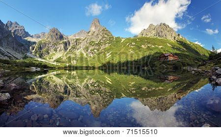 Green Lake In Tatra Mountain, Slovakia