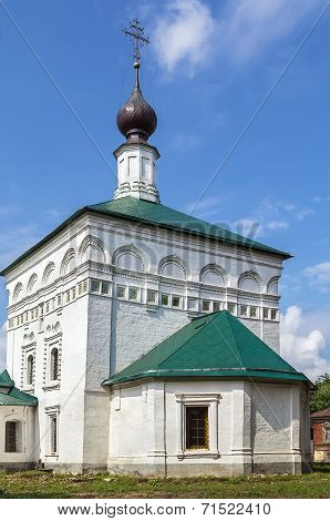 Church Of The Transfiguration Of Jesus, Toropets