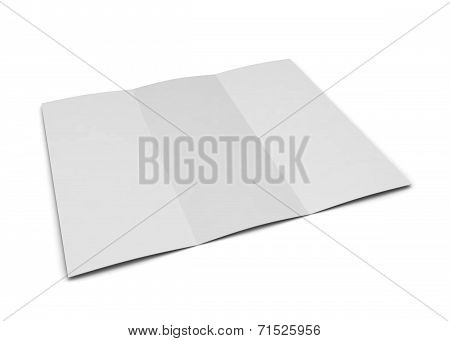 Blank Trifold