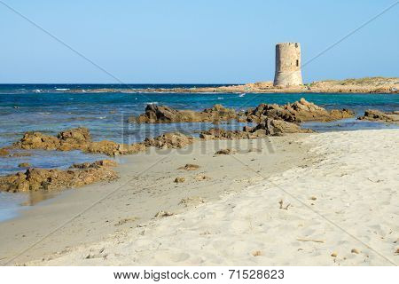 San Giovanni Beach In Sardinia