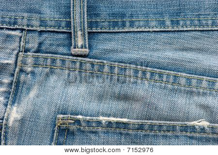 Textura de Blue Jeans