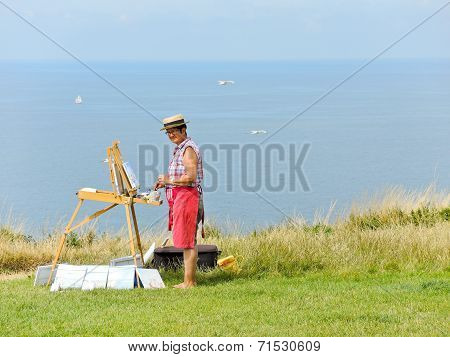 Artist Paints Sells Landscapes Of Alabaster Coast